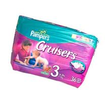 Pampers Cruisers Diapers, Size 3, Jumbo Pack, 36 ct