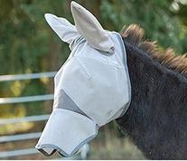 Cashel Crusader Mule Donkey Fly Mask with Long Nose and Ears