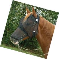 Cashel Quiet Ride Standard Fly Mask With Long Nose - Size: