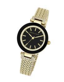 Women's Anne Klein Crystal Accent Mesh Strap Watch, 30mm -