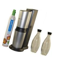 SodaStream Crystal Home Soda Maker and Crystal Glass Carafe