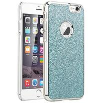 ULAK  Crystal Plastic with Colored Chrome Coating Case for