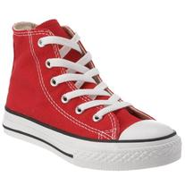 Infant Converse All Star High Top Sneaker, Size 4 M - Red