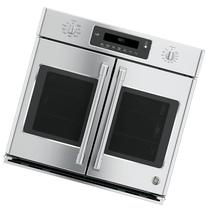 """CT9070SHSS 30"""" Single French Door Electric Wall Oven with"""