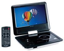 "Craig Electronics CTFT712 9"" DVD/CD Swiv Player - Quantity 6"