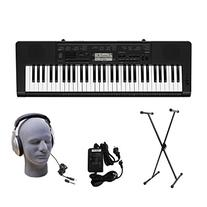Casio CTK-3200 61-Key Premium Portable Keyboard Package with