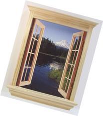 CubiVue Cubicle Decor Window Decoration with 4 Different