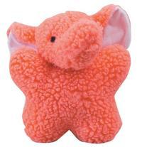 Zanies Cuddly Berber Baby Elephant Dog Toys, Pink
