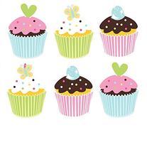 Cupcake Birthday Napkins