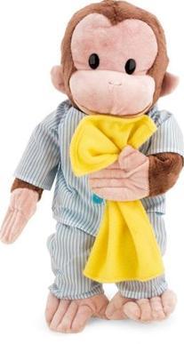 """Curious George 16"""" Pajamas"""