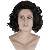 Angelaicos Men's Curly Fluffy Cool Nautral Looking Party