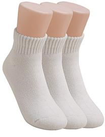Vero Monte Women's Cushion Cotton Athletic Low Cut Socks