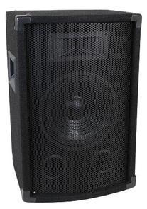 MCM Custom Audio 555-10305 10'' Two Way PA / DJ Speaker 400W