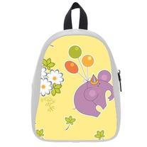 Custom Fashion Childrens Backpacks Cute Cartoon Elephant