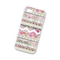 Custom Girly Floral Tribal Andes Aztec Printed HARD Cases
