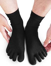 Vero Monte 4 Pairs Mens Low Cut Casual Crew Toe socks  1382