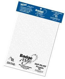 Badge Magic Cut to Fit Freestyle Kit/Adhesive