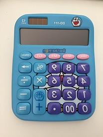 Colormax Cute 12-digit Solar-powered Cartoon Calculator
