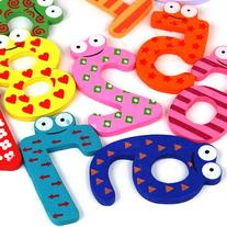 World Pride Cute Animal Look Wooden Magnetic Kids Toy 0-9