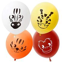 Bundle Monster Cute 32pc Kids Birthday Party Balloons -