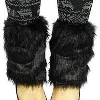 Simplicity Women's Winter Faux Fur Boot Cuff Cover Leg