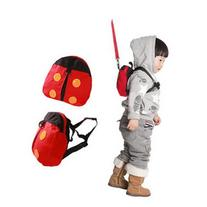 Cute Ladybug Style Kid Child Toddler Safety Harness Backpack