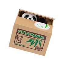 SPM168 Cute Stealing Coin Little Panda Money Bank,Saving Box