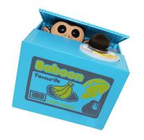 Virtuous * Cute Stealing Money Box Coin Bank  / Cool Gadgets