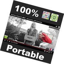 McPolo's Cutest Pink Elephant iBib 100% Portable Silicone