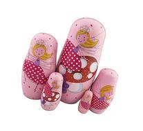 Winterworm® Set of 5 Cutie Lovely Pink Princess Nesting