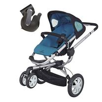 Quinny CV155BFWK10 Buzz 3 Stroller With Cup Holder - Blue