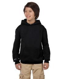 Champion CY4C CH Youth Sweatshirt Hood - Black - Large