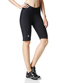 Baleaf Women's Cycling Padded Shorts Black UPF 50+ Size M