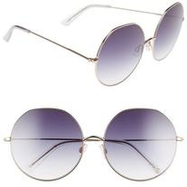 Women's D'Blanc Sonic Boom 62Mm Gradient Round Sunglasses