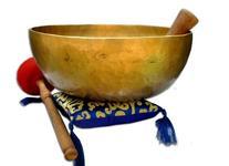 """11"""" D-chakra Master healing singing bowl,Meditation bowl,"""
