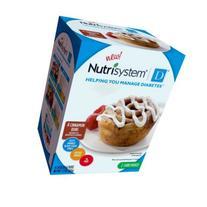 Nutrisystem D Cinnamon Buns, 4 Count X 1.8oz