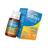 D Drops Vitamin D 1000 IU, 0.17 Ounce