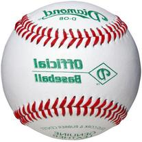 Diamond D-Ob Official Leather Baseballs 12 Ball Pack