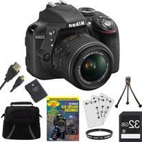 Nikon D3300 24.2 MP Digital SLR Camera with AF-S DX NIKKOR