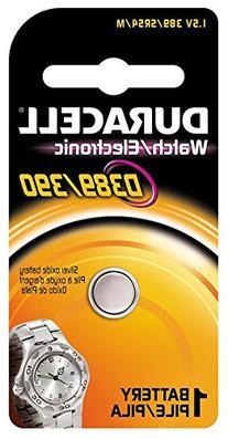 Duracell D389/390PK Watch/Electronics Battery, 1.5 Silver
