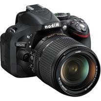 Nikon D5200 24.1 MP DX-Format CMOS Digital SLR Camera with