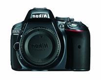 Nikon D5300 24.2 MP CMOS Digital SLR Camera with Built-in Wi