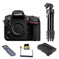 Nikon D810 Digital SLR Body Only Camera, 36.3MP - Bundle