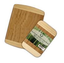"Da Vinci Natural Bamboo 2-Piece Cutting Board Set - 0.7"""