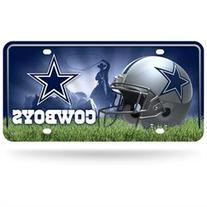 Dallas Cowboys Metal License Plate