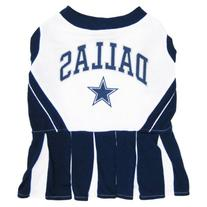 Pets First Dallas Cowboys NFL Team Pet Dog Cheerleader