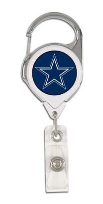 NFL Dallas Cowboys Retractable Premium Badge Holder, Team