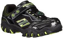 Skechers Kids Damager II-Adventurer Light-Up Sneaker , Black