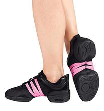"Unisex ""Tutto Nero"" Dance Sneaker,P22MBLK11,Black,11 US"