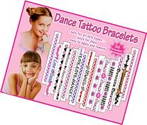 Dance Temporary Tattoo Bracelets